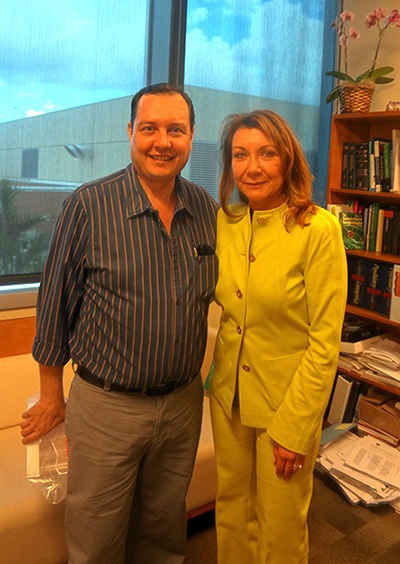 Dr. Alberto Sola and Deborah C. Mash, PhD